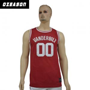 7dfa69bcf07 ... Quality Custom Logo Printing Reversible Dri Fit Mesh Basketball Jersey  for sale ...