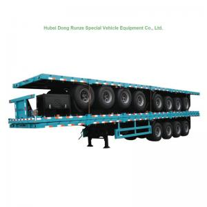 China 4 Tri Axle Container Chassis Semi Trailer for Container 60 Ton on sale