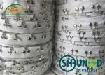 2CM Cotton Herringbone Tape Garments Accessories 2.5CM Distance Hook And Eye Tape