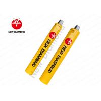 NSD Series Down The Hole Hammer With Foot Valve For Rock Chisel Yellow Color