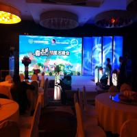 Waterproof Dustproof P5 Outdoor Led Video Display With 140º Viewing Angle
