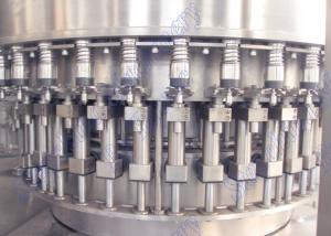China Automatic Carbonated Drinks Filling Machine Isobar Pressure Filling Principle on sale