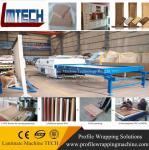 China factory kitchen pvc cabinet door vacuum membrane press machine