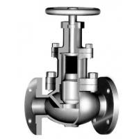 Bolted Bonnet Back Seal Design 3 Way Globe Valve For Sour Gas Service