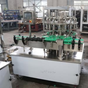 China High Precision Filling Capping Machine , Automatic Bottle Capping Machine 7.5 Kw on sale