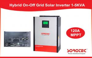Quality 4KVA / 5KVA Solar Power Inverters , 220V / 230V / 240VAC Off / On Grid Inverter for sale