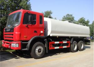 China CLW brand high quality JAC brand left hand drive 6x4 diesel water tanke truck 25000L, 25m3 water cistenr truck on sale