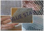 Fine Flat Wire Stainless Steel Knitted Mesh Corrosion Resisstance Wire Dia 0.15MM - 0.3MM