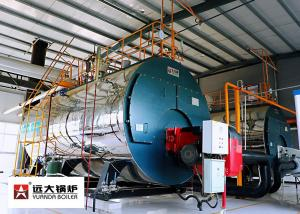 China PLC Controller Fuel Oil Steam Boiler 4 Tons Per Hour For Paper Mill on sale