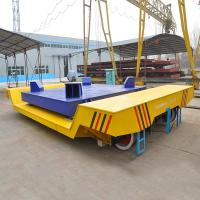 High Quality On Rail Electricity Operated Ladle Transfer Car with electronic scale