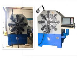 Quality CNC Spring Forming Machine With Twelve Axes Rotating Wire Forming Machine for sale