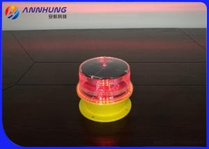 China Built - In Photocell Solar Obstruction Light Steady - Burning Mode For Power Plant Chimneys on sale