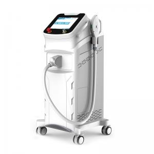 China Vertical E Light Laser Hair Removal Machine Remove Vascular And Improve Face Redness on sale