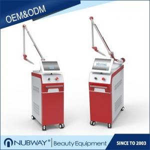 China best selling Korea pigmentation removal white & red color metal case Nd Yag Laser Tattoo Removal Machine on sale