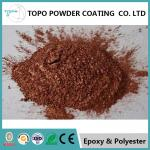 RAL1005 honey yellow electrostatic thermoset powder coating with high mechanical property