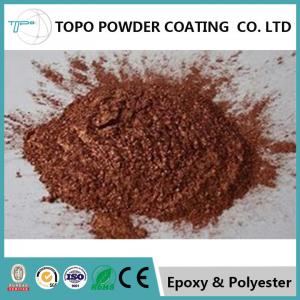 China RAL1005 honey yellow electrostatic thermoset powder coating with high mechanical property on sale
