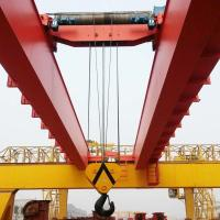 20ton electric double girder overhead crane with magnet price