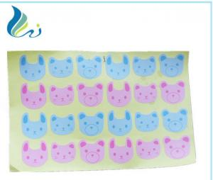 China Customized Cute Baby Laserjet Sticker Paper For Personal Packaging on sale