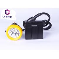 3.7V Waterproof LED Mining Lamp 15000 Lux Safety 1200 Cycles 300mA Working Current