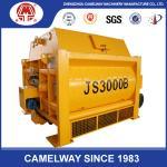 High Technology Twin Shaft JS3000 Stationary Concrete Mixer 3000L Concrete Mixer 3000 Liter