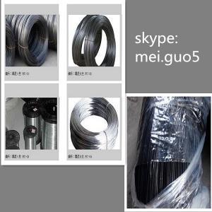 China Fil recuit par attache bon marché de noir (usine) on sale