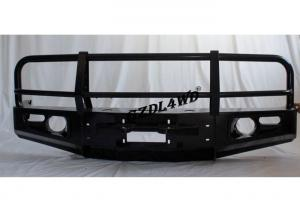 Black 4x4 Off Road Front Bumper For Toyota Land Cruiser 80