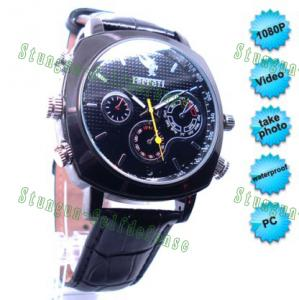 China Real HD 1080P Waterproof spy Watch Camera / Watch DVR 4G or 8G on sale