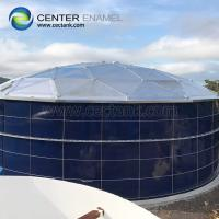 Anti - Corrosion Enamel Bolted Steel Rainwater Colleciton Tanks For Farming Irrigation