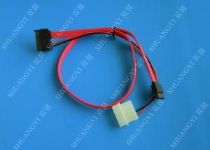 China 18in SATA 22Pin 7+15Pin to SATA Cable with LP4 Power Combo Cable on sale
