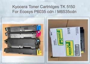 China KYOCERA TK-5150Y TONER CARTRIDGE 1T02NSANL0 FOR ECOSYS 6535, 4 PCS PER SET 10K PAGES on sale