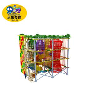 China children playground ropes course development team building obstacle course on sale