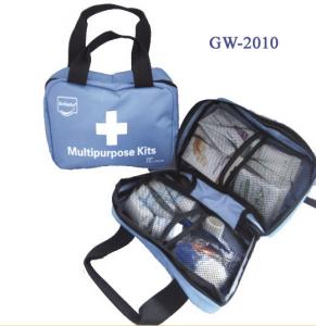 China Woven Bag Multipurpose First Aid Kits For Home / Travel / Emergency Use on sale