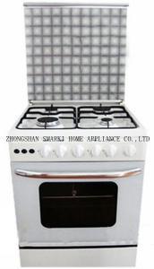 China SOF66P01 24 a polegada 60*60cm 4 bico de gás livra o fogão de gás ereto com forno on sale