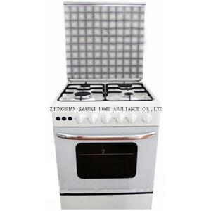 China SOF66P01 24 pouce 60*60cm 4 brûleurs à gaz libèrent le cuiseur de gaz debout avec le four on sale