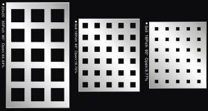 China Hoja de metal perforada revestida del acero de carbono del PVC (fábrica), hoja perforada on sale