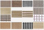 Teflon/PTFE coated glassfiber open mesh conveyor belt
