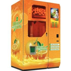 China Low Cost Fresh Orange Juice Vending Machine for Sales on sale