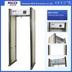 6 detection zones Walk Through Gate Remote Controller 0-99 Adjustable