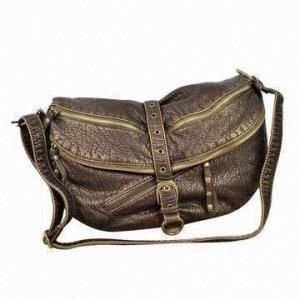 China Fashion Female Genuine Leather Spring Autumn Sling Bag With With Shoulder Handle on sale