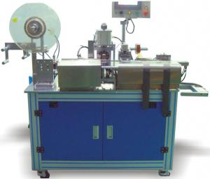China Pole Semi Automatic Taping Machine Pole Lugs Automatic Adhesive Tape Welding on sale