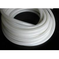 Polyester Braid Silicone Rubber Tubing , Flexible Silicone Hose Food Grade Without Smell