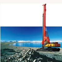 Red Pile Drilling Machine , Portable Full Hydraulic Rotary Drilling Rig SANY SR250 SR Series