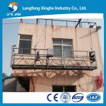 Adjustable suspended platform/steel suspended platform ZLP800 for facade painting