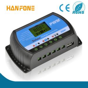 China 12V/24V 30A solar charge controller LCD Display With USB advantages of solar energy best solar panels canadian solar che on sale