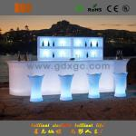 2016 new arrive led furniture bar counter with RGB color changeable for event