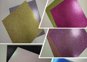 China 12  * 12   Weight 300g Glitter Card Paper Corrugated Paper Card Stock Paper on sale