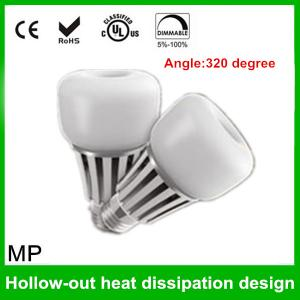 China MP Lightings UL certification Patent design 5W 7W 9W B22 E27 LED Bulb on sale