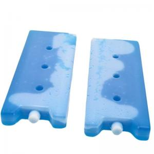 China Professional Freezable Ice Packs Phase Change Material Plastic Shell MSDS Approve on sale