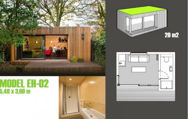 Superieur Soundproof Prefabricated Garden Studio / Prefab Garden Shed For Garden  Music Images