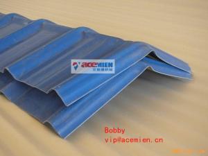 China cadena de producción redonda acanalada de alta resistencia de la teja/de la hoja de tejado de 840-1130m m UPVC on sale